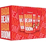 Enlightened Bada Bean Bada Boom Plant Protein Gluten Free Roasted Broad (Fava) Bean Snack, Sriracha, 4.5 oz. (Pack of 12) Review