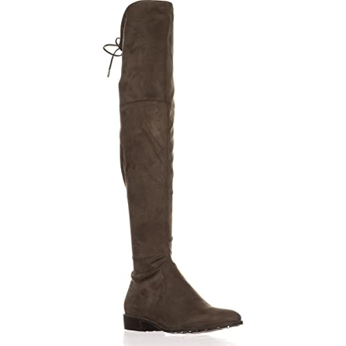 39c05210a Image Unavailable. Image not available for. Color: Marc Fisher Womens Humor  2 Closed Toe Over Knee Fashion Boots, Taupe ...