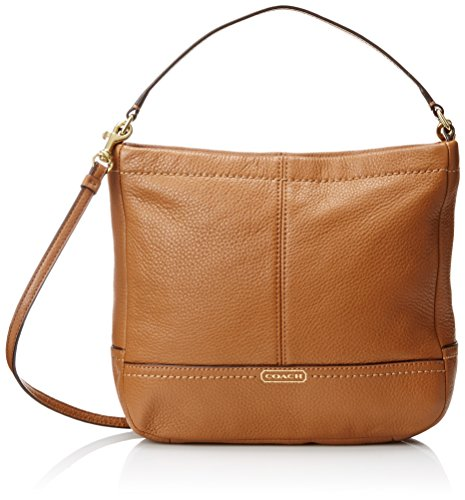 Coach Brown Leather Duffle Bag - 3