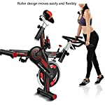 Cyclette-indoor-esercizio-cyclette-Spin-Bike-StudioMacchine-Allenamento-cardio-Manubrio-regolabile-Distanza-sedile-Tempo-calorie-impulso-Capacita-di-carico-massima-250-kg-a-basso-rumore-bianco