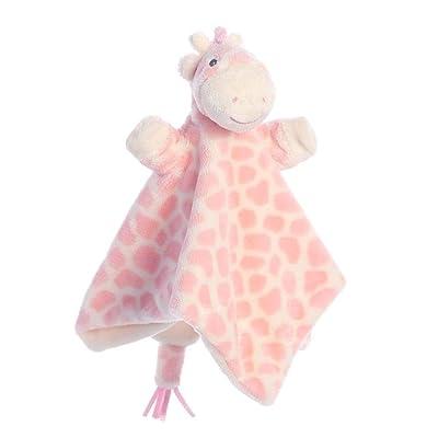 Aurora Gigi Giraffe, Pink Finger Puppet Blankie, 20842, Perfect: Toys & Games