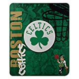 "Officially Licensed NBA ""Hard Knocks"" Printed Fleece Throw Blanket, Multi Color, 50"" x 60"""