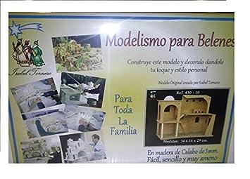 Maquetas Belén. Kit establo grande de madera para Belén de ...