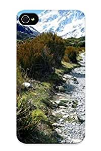 Hot New Aoraki Mount Cook National Park New Zealand Case Cover For Iphone 4/4s With Perfect Design