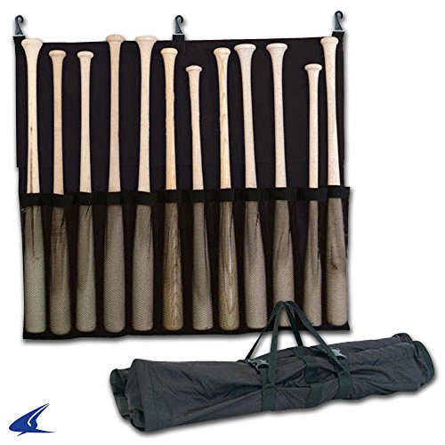 CHAMPRO 12 Bat Fence Rack Carry Bag Black Equipment Bag