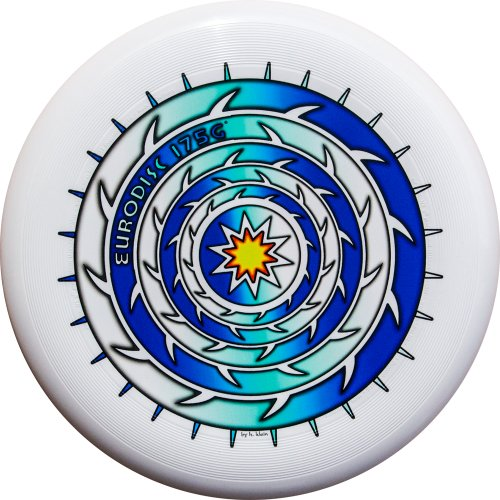 Eurodisc Ultimate Frisbee Competition Disc 175g - Fotoprint SPIKESTAR