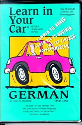 Amazon com: Learn In Your Car: German: Level One (Language