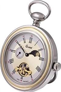 Gardé Mechanic Reloj de bolsillo para hombres Con soporte
