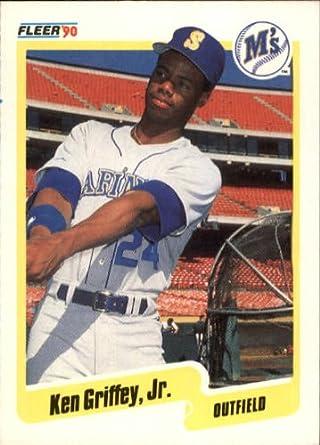 f1d2a27865 Amazon.com: 1990 Fleer Baseball Card #513 Ken Griffey Jr ...