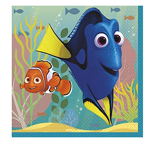 Unique Finding Dory Party Luncheon Napkins 6.5