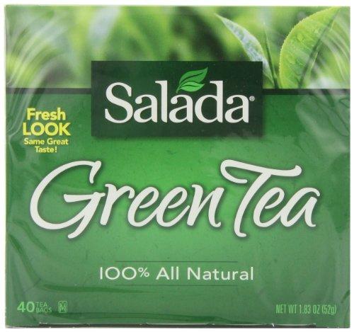 Salada Green Tea, 40 Count Box (Pack of - Green Tea Salada
