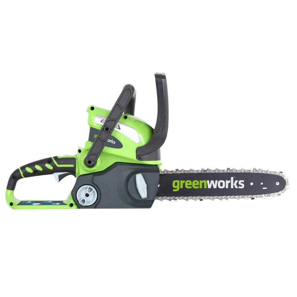 Greenworks 12-Inch 40V Cordless Chainsaw, Battery Not Included 20292 Renewed