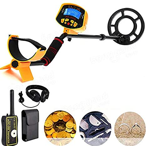 Generic MD3010II Detector de Metales Gold Deep Sensitive Search Digger + TX-2002 Detector de Tesoros Pinpointer: Amazon.es: Jardín