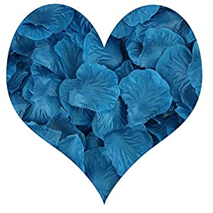 cn-Knight 1000pcs Artificial Rose Petals Silk Flower for Wedding Confetti Party Home Décor Valentine Day 81