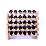 Wooden wine rack stacking wine rack ornaments fashion wine Cabinet