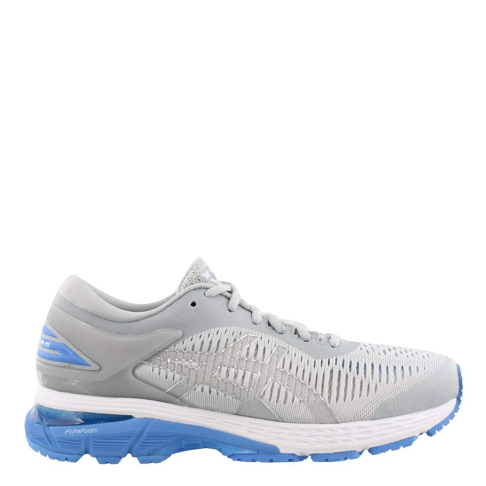 ASICS Gel-Kayano 25 Women's Shoe, Mid Grey/Blue Coast, 5 B US