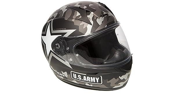 Scorpion Casco Moto exo-390/Army multicolor talla S