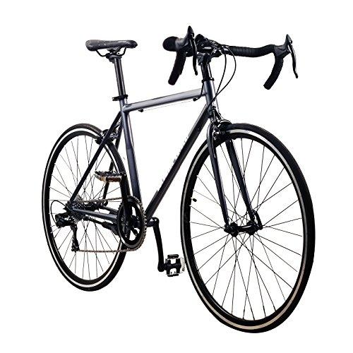 Solomone Cavalli Lightweight Classic Sports 8 Speed 700C Medium Road Bicycle Bike w/Shimano Derailleur by Solomone Cavalli