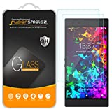 [2-Pack] Supershieldz for (Razer Phone 2) Tempered Glass Screen Protector, Anti-Scratch, Bubble Free, Lifetime Replacement