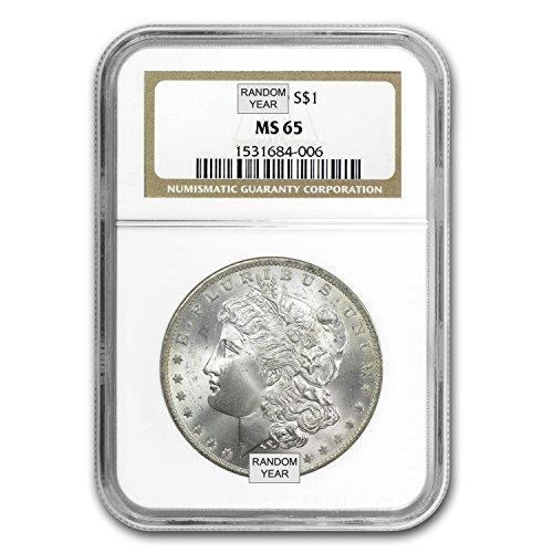 1878-1904 Morgan Dollars MS-65 NGC $1 MS-65 NGC