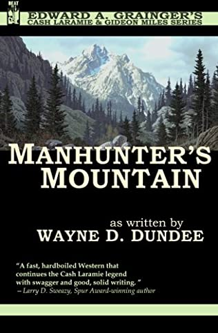 book cover of Manhunter\'s Mountain