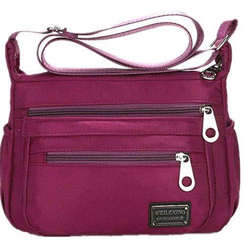 Nylon Crossbody Handbag Women Messenger Bags Shoulder Bag Famous Brands Lightweight Waterproof - Girl Famous Brands