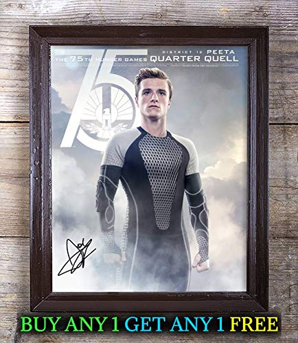 Josh Hutcherson The Hunger Games Autographed Signed 8x10 Photo Reprint #00 Special Unique Gifts Ideas Him Her Best Friends Birthday Christmas Xmas Valentines Anniversary Fathers Mothers Day