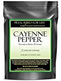 Cayenne Pepper - Natural Fruit Fine Powder (Capsicum annuum), 1kg
