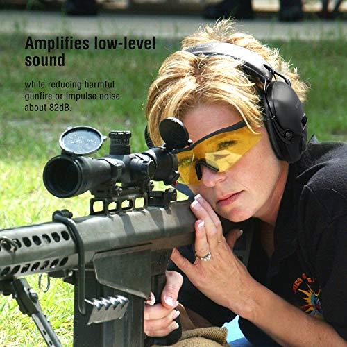 awesafe GF01+ Réduction du bruit Maximiser le son Sécurité électronique Casque antibruit, Protection de l'ouïe, Idéal… 2