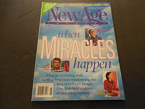 New Age Journal Jun 1991, Herbal Allergy Cures, Healed From Cancer