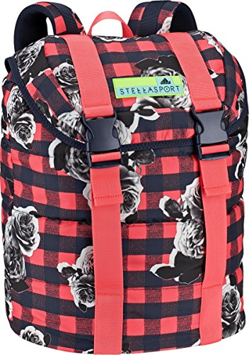 Adidas Performance Stellasport Backpack, Night Indigo Blue/Flash Red/White, One Size