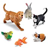 Learning Resources Jumbo Animals, Domestic Pets