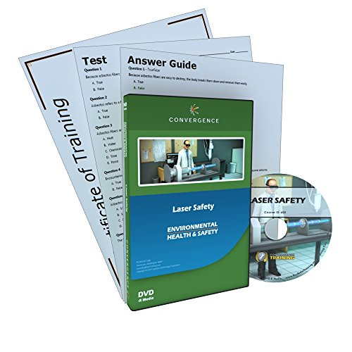 Convergence Training C-805 Laser Safety DVD by Convergence Training