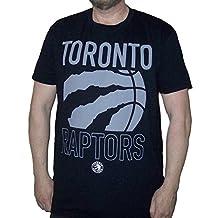 Sporticus Men's NBA Toronto Raptors Ripped Basketball T-shirt