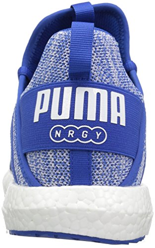Herren Knit Sportschuhe Blau 39 Weiß Puma Mega NGRY qRxnqSA