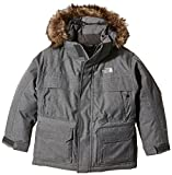 The North Face Kids Boy's McMurdo Down Parka (Little Kids/Big Kids) Charcoal Grey Heather XL (18-20 Big Kids)
