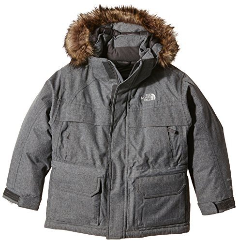 Boys Mcmurdo Down Parka - The North Face Kids Boys McMurdo Down Parka (Little Big Kids), Charcoal Grey Heather, XL (18-20