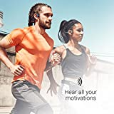 AfterShokz Trekz Air Open Ear Wireless Bone Conduction Headphones, Slate Grey, AS650SG