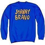 Johnny Bravo Logo Animated TV Series Show Adult Crewneck Sweatshirt