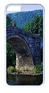 Arch Bridge Wales Uk Custom iphone 6 plus 5.5inch Cases Cover Polycarbonate White