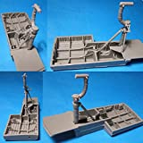 1/48 B-24 Liberator Wheel Wells & Landing Gear Vector resin: VDS48067