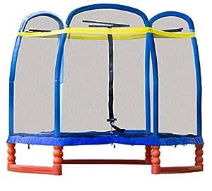 "SkyBound Super 7 The Perfect Kid's Indoor/Outdoor Trampoline, 84"" H"