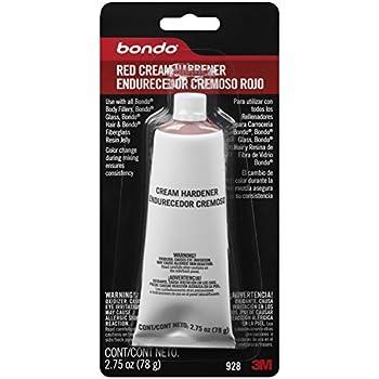 Bondo 928 Red Cream Hardener - 2.75 oz.