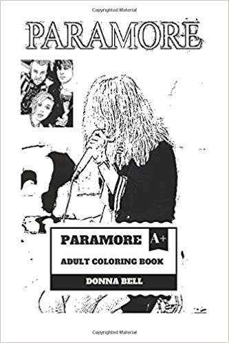 Paramore Adult Coloring Book: Alternative Rock and Punk Pop ...