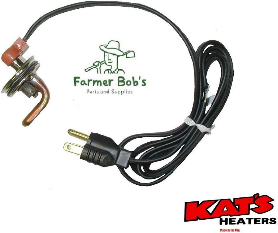 Kats Frost Plug Engine Heater 1.75 NPT 600 Watt w// 120 Volt USA Made Farmer Bobs Parts 11609