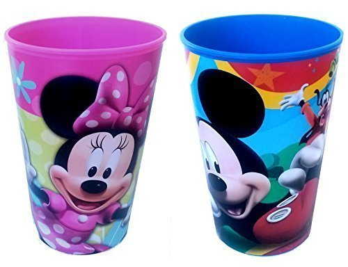 Disney Mickey & Minnie Mouse Plastic Party Cups ()