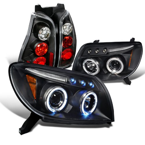 Toyota 4Runner Black Halo Projector Headlights, Altezza Tail Lights (4runner Projector Headlights)