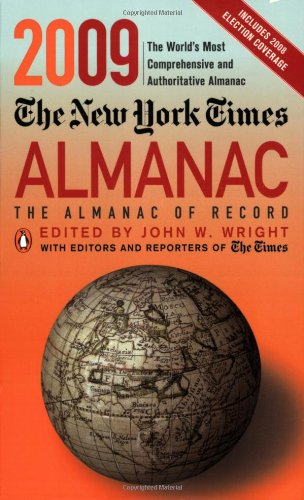 NEW YORK TIMES ALMANAC 2009, THE