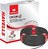 Havells Lifeline Cable WHFFDNKA12X5 2.5 sq mm Wire (Black)