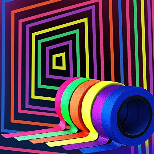 Blacklight Supplies - YGS-Tech UV Blacklight Reactive Fluorescent, 6